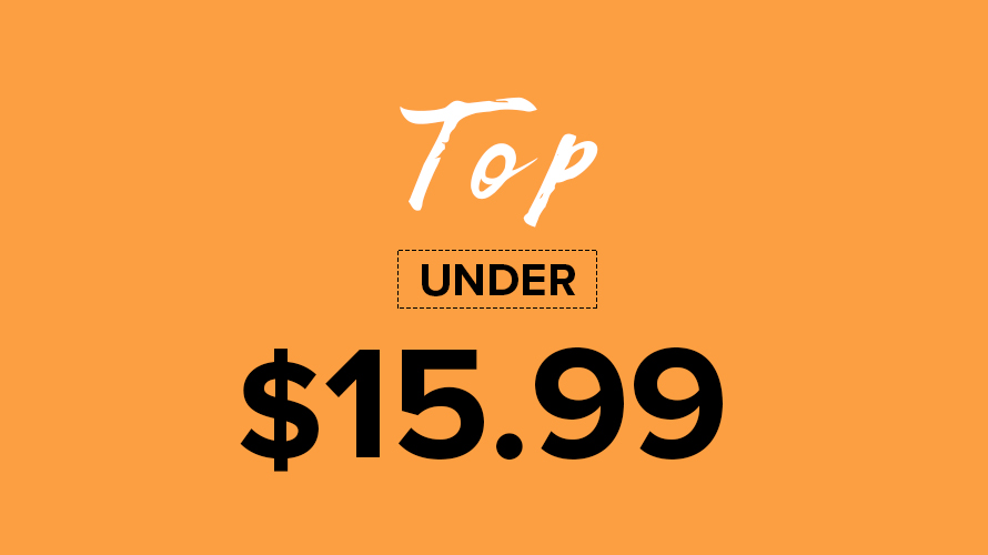 Top All Under $15.99