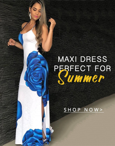 Maxi Dress Perfect For Summer