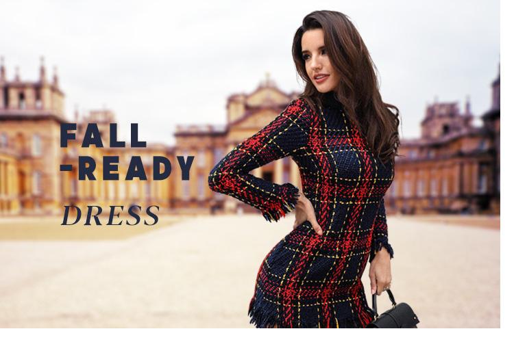 Fall-Read yDress