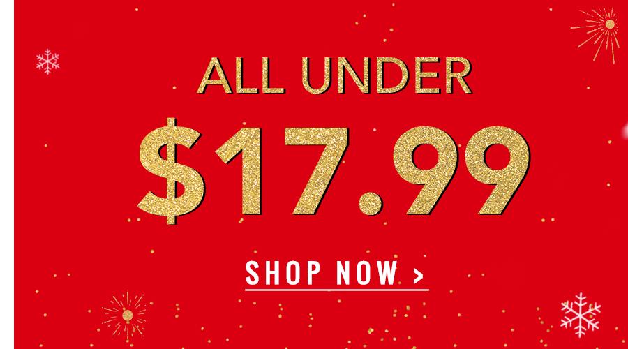 ALL Under $17.99