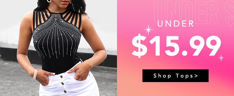 Tops All Under $15.99