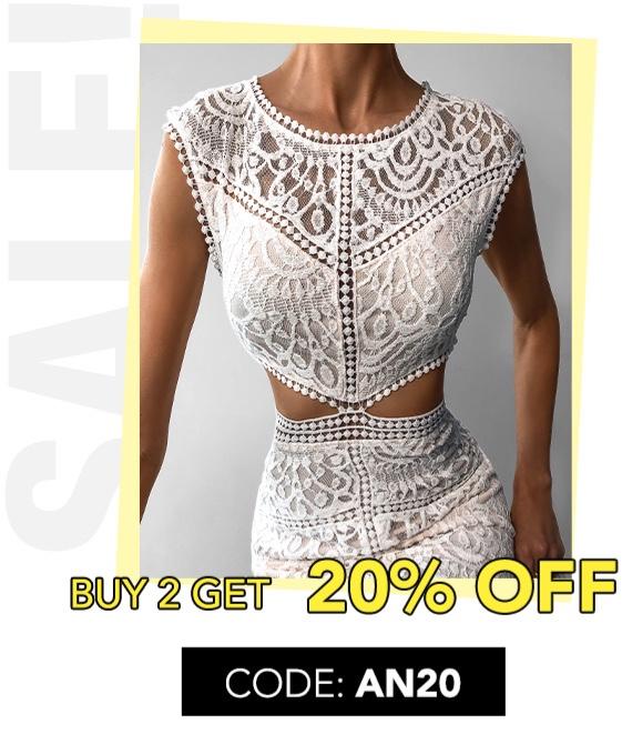 Buy 2 Get 20% off