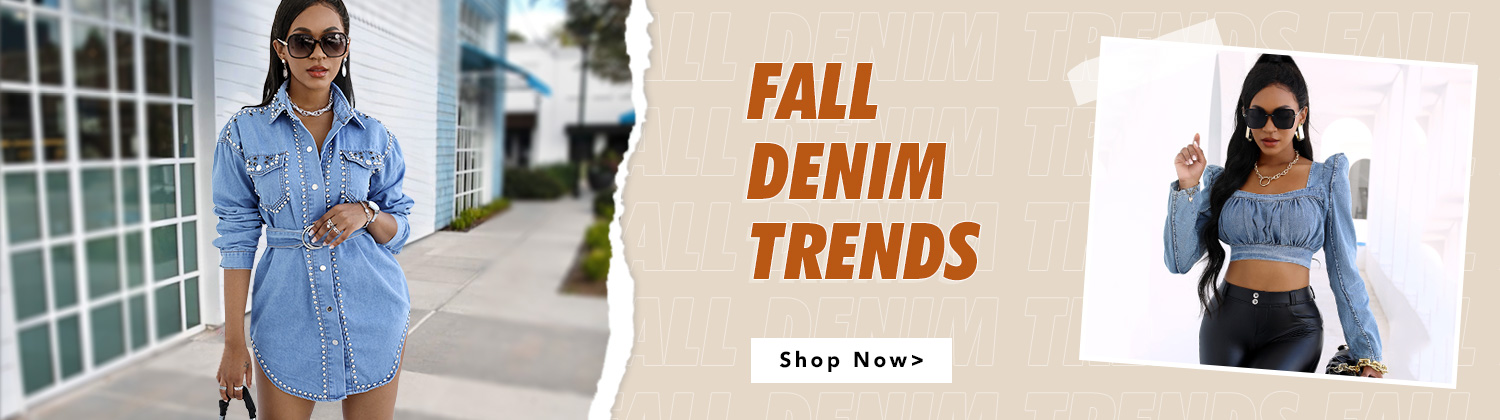 Fall Denim Trends