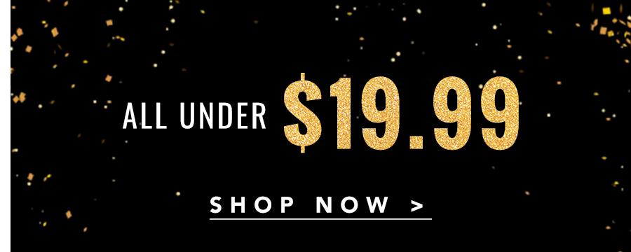 All Under $19.99