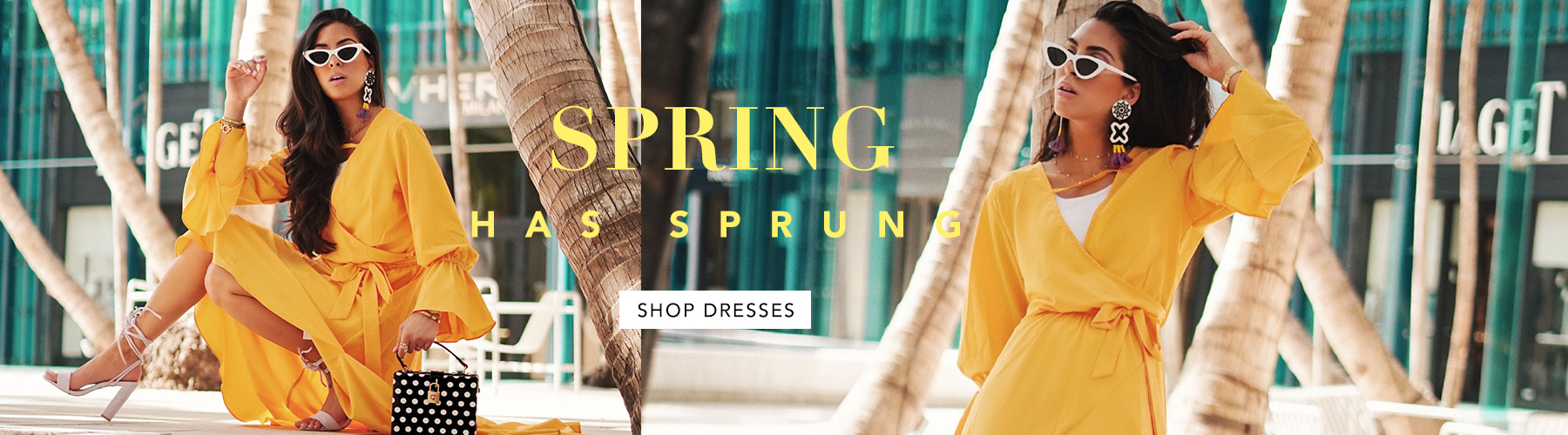 Spring has Sprung Shop Dresses