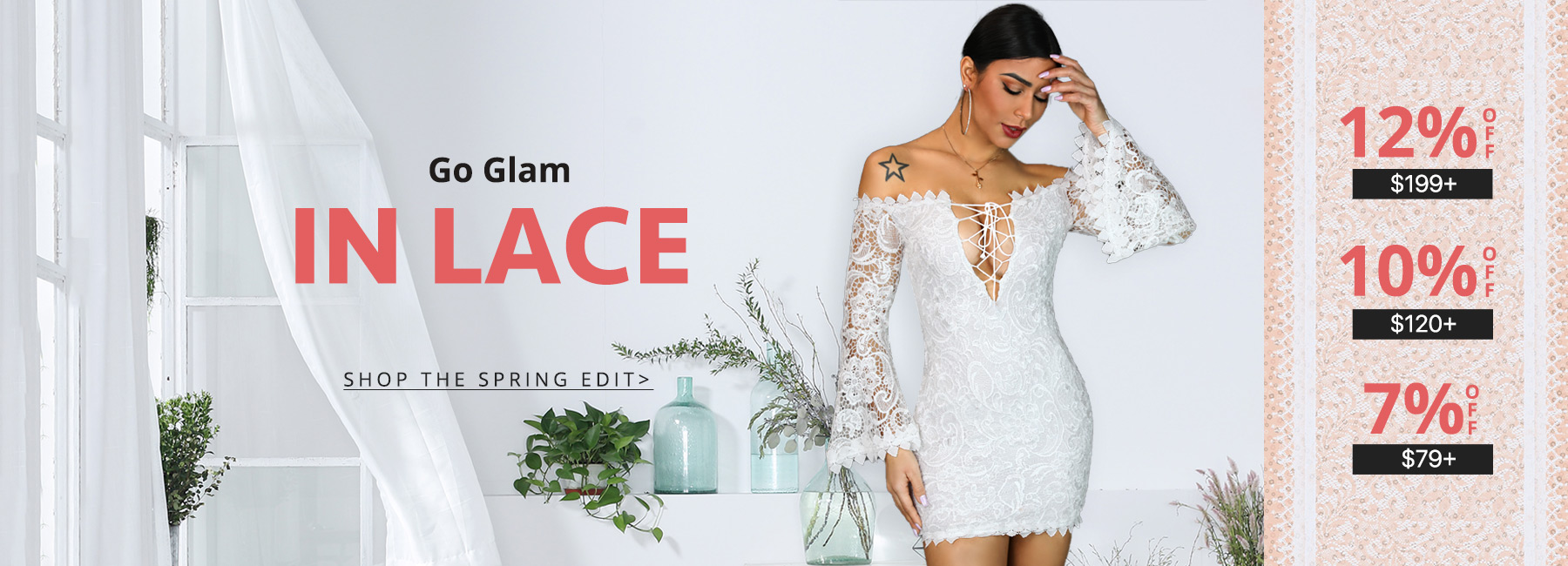 Go Glam In Lace