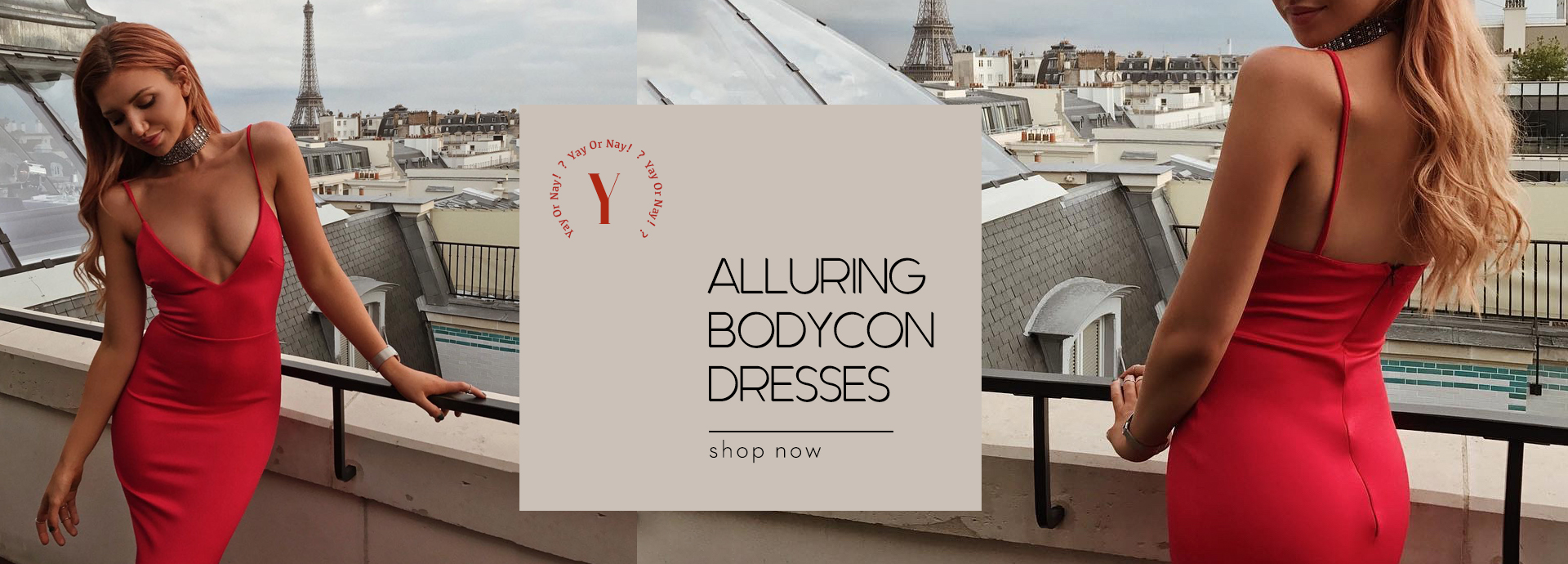 Alluring Bodycon Dresses