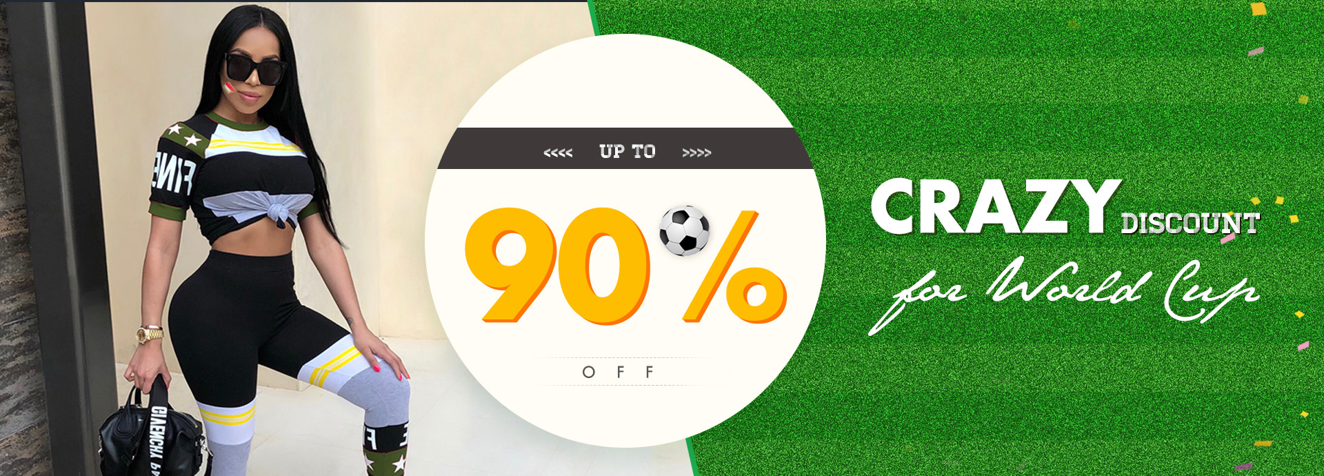 Crazy Discount for World Cup