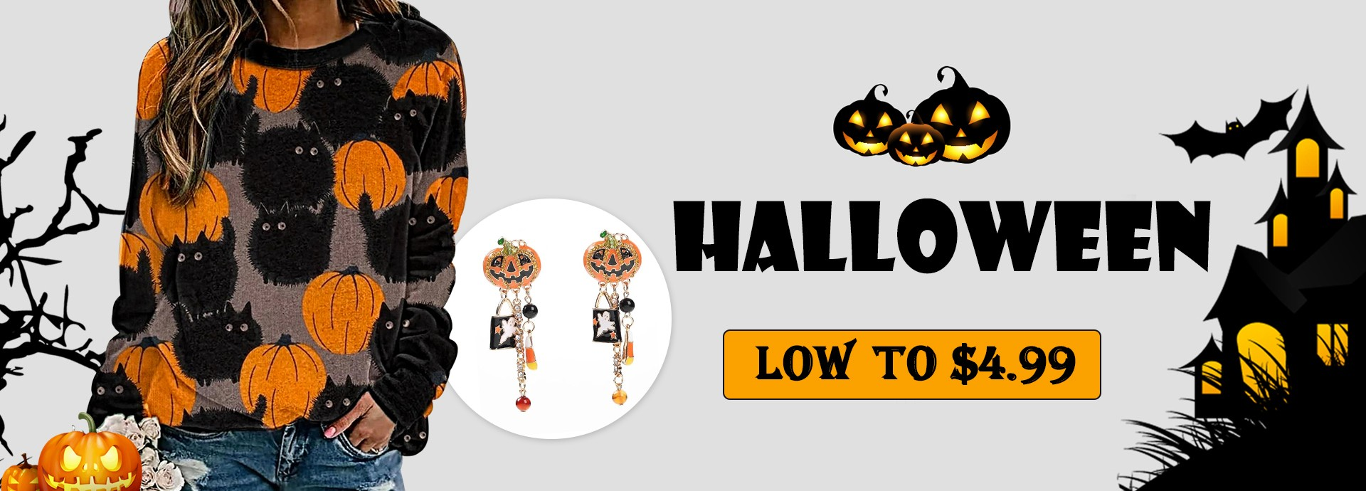 HALLOWEEN  LOW TO $4.99