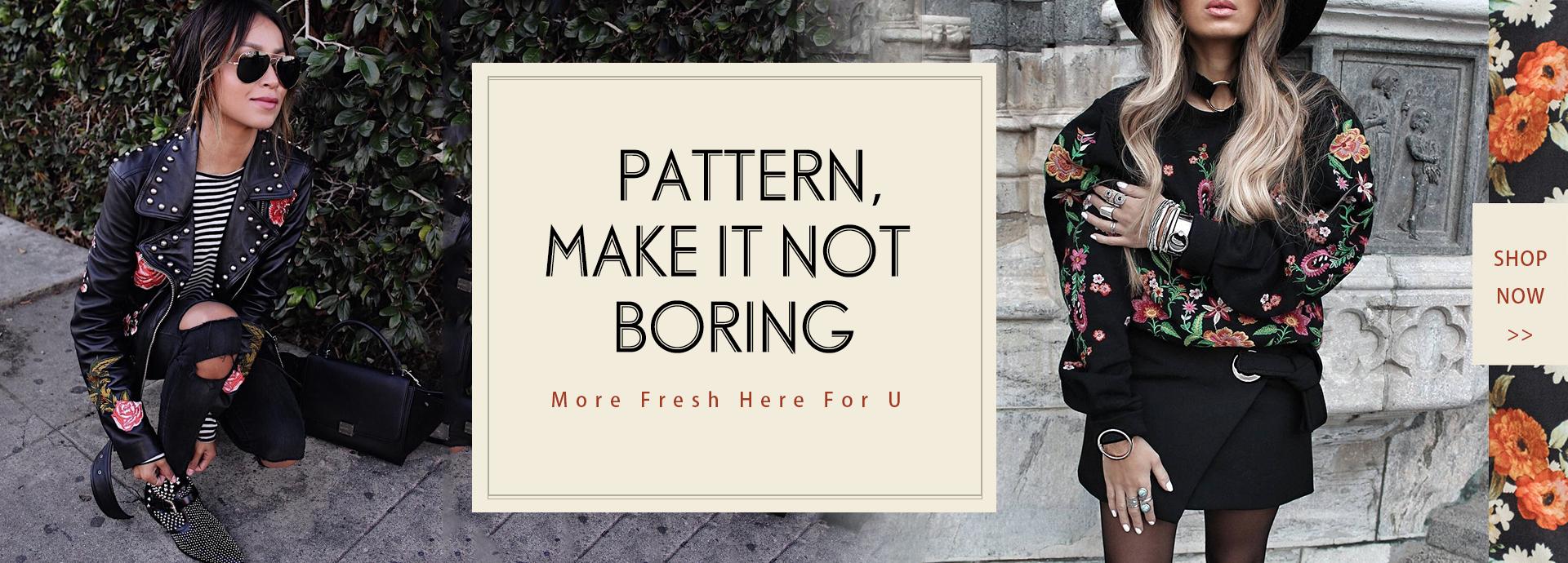 Pattern,Make it not Boring