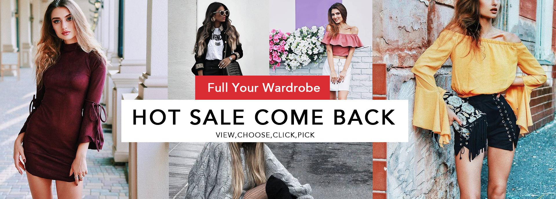 Hot Sale Come Back