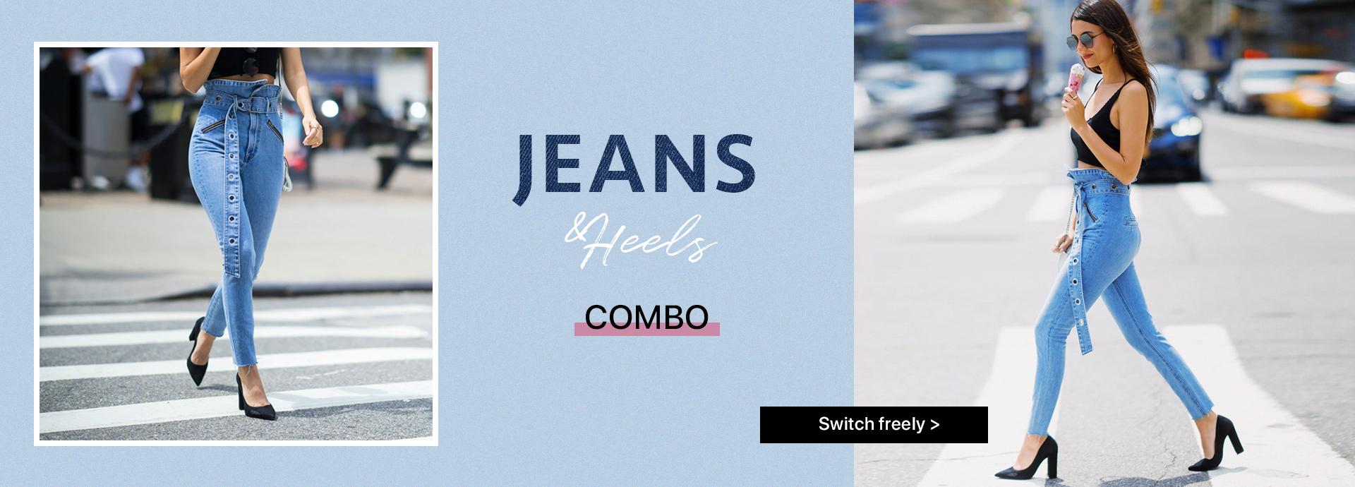 Jeans & Heel Combo