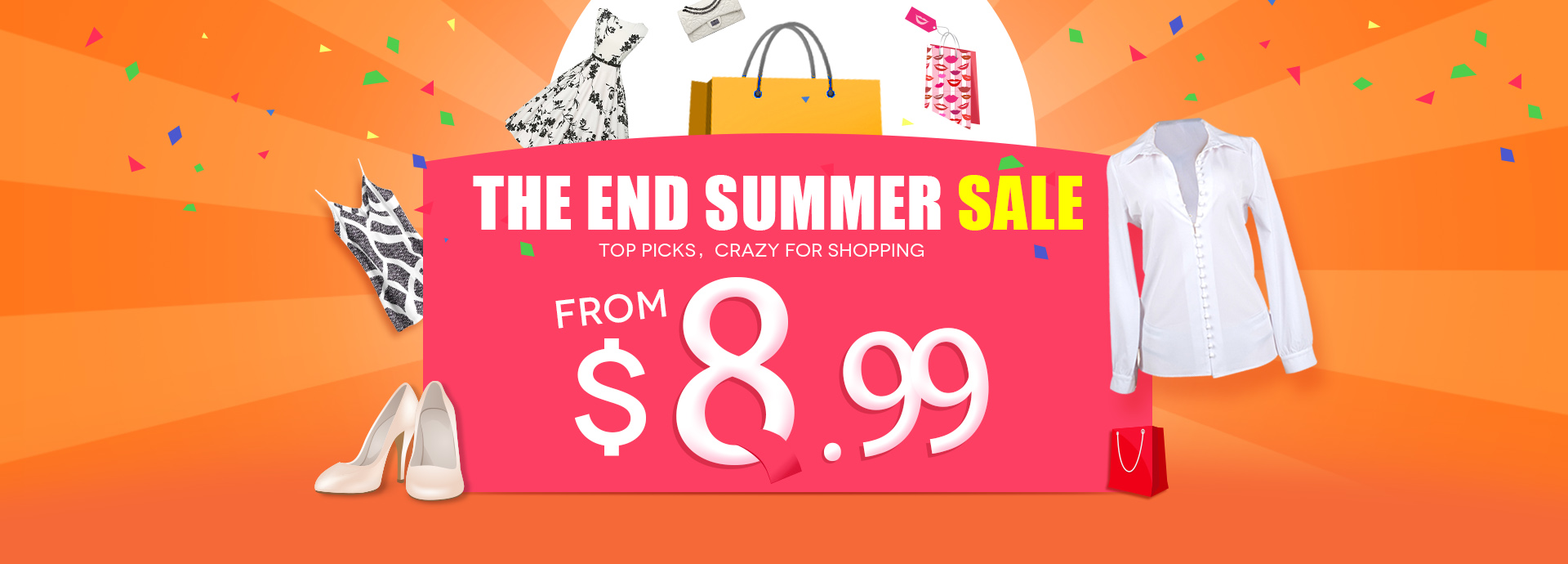 The End Summer Sales