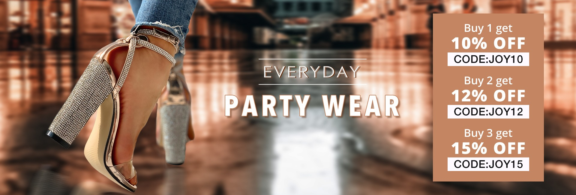 Everyday party wear