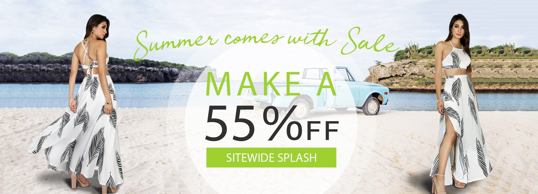 Summer Comes With Sale