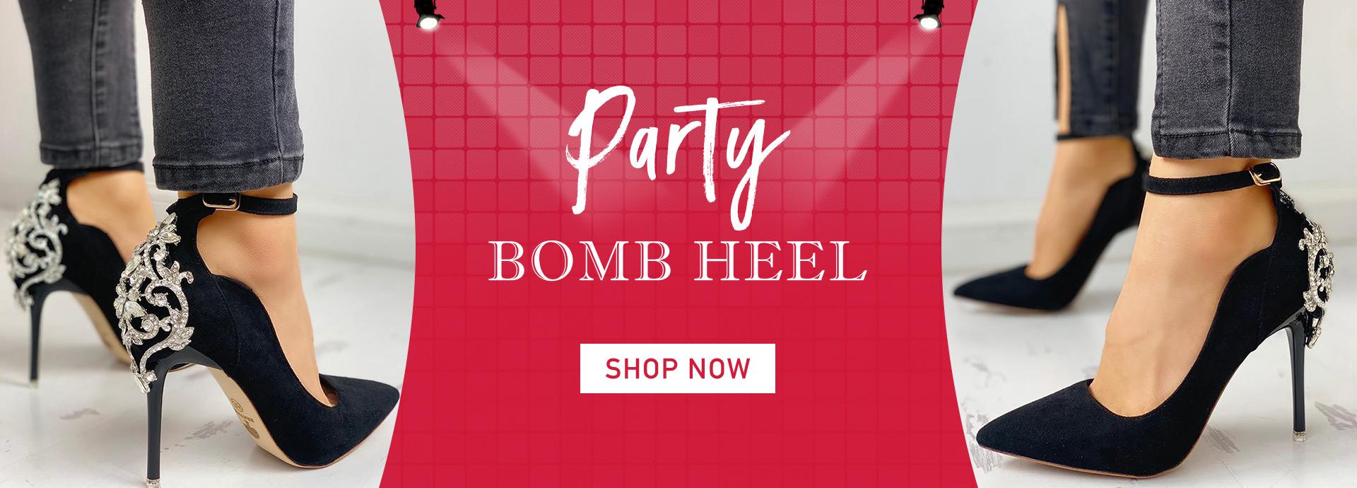 Party Bomb Heel