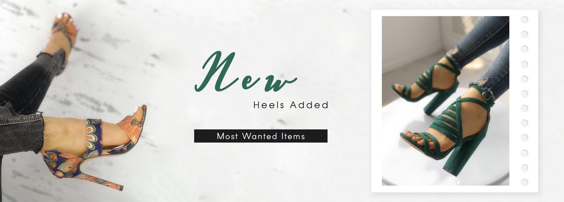 New Heels Added
