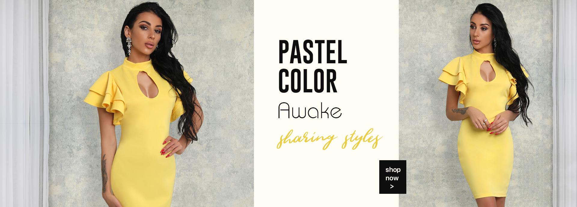 Pastel Color Awake