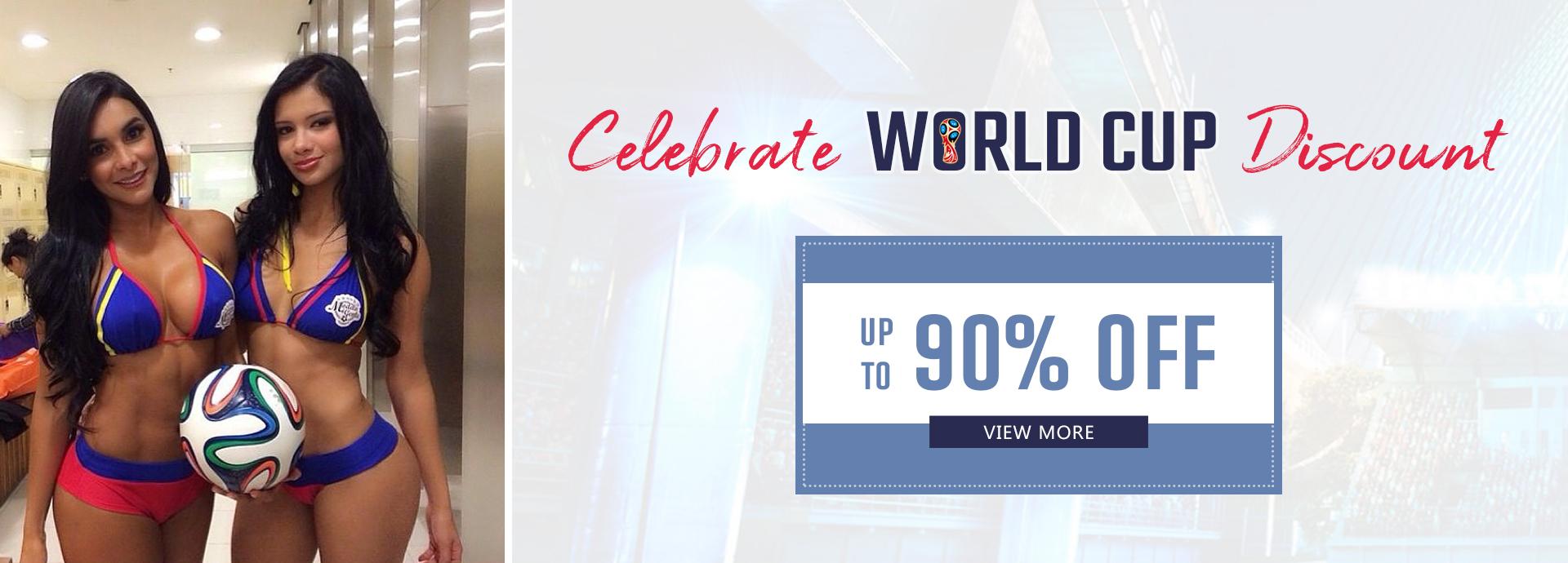 Celebrate World Cup Discount