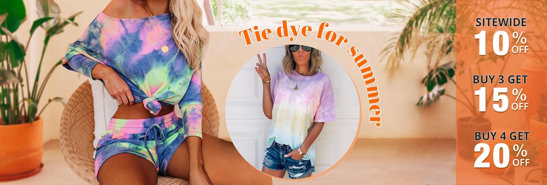 Tie dye for summer