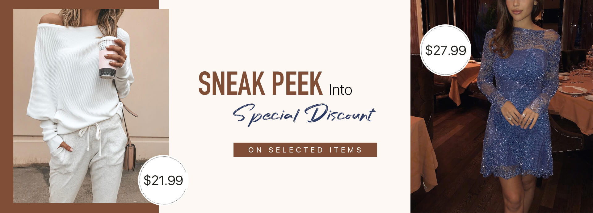 Sneak Peek Into Special Discount