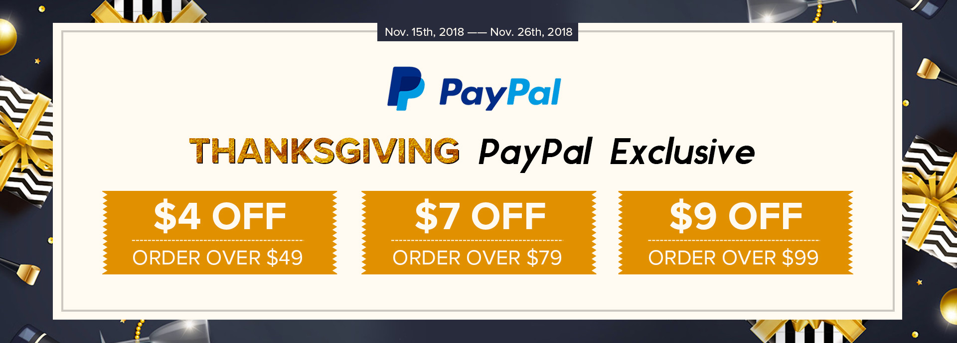 Paypal Discount