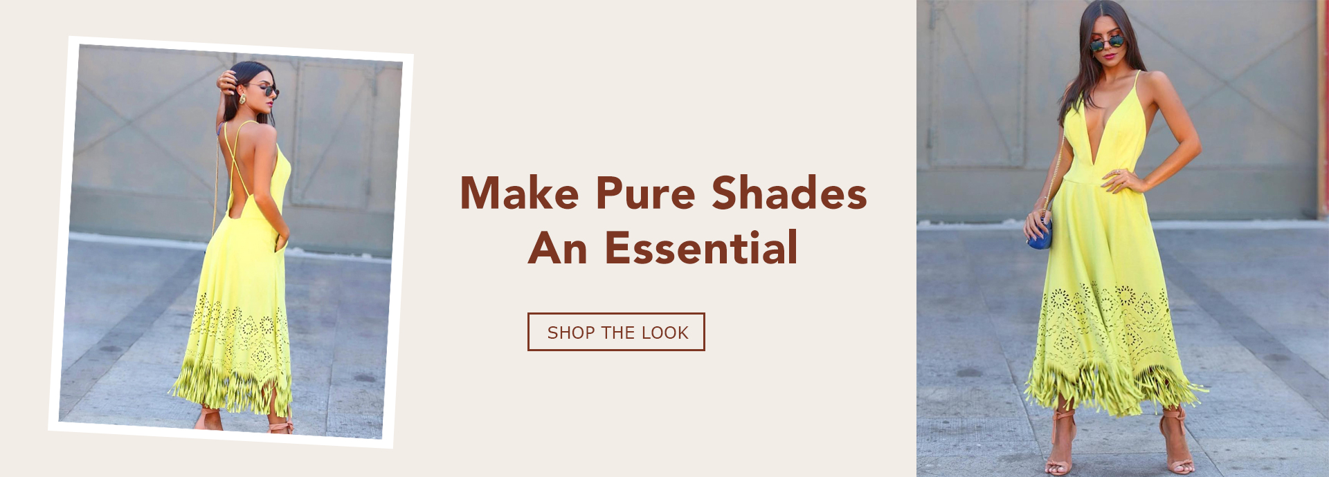Make pure shades an essential