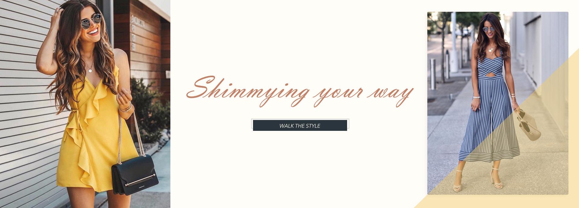 Shimmying your way