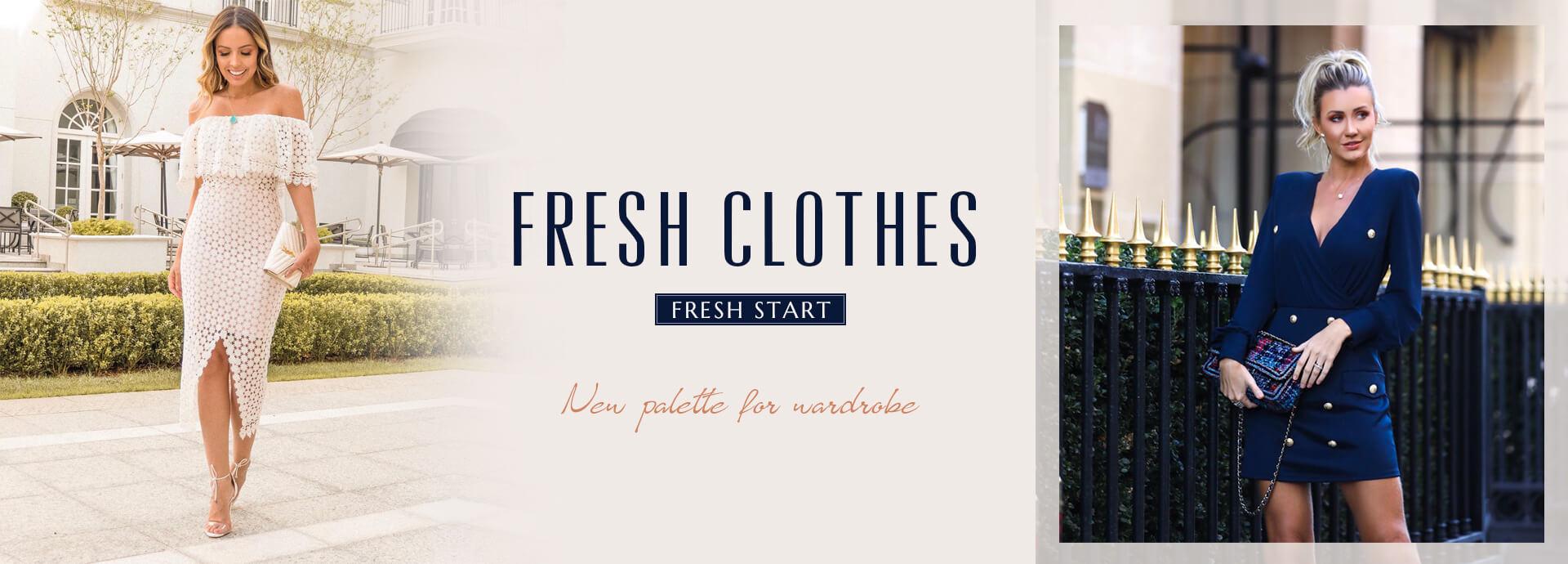 Fresh Clothes  Fresh Start