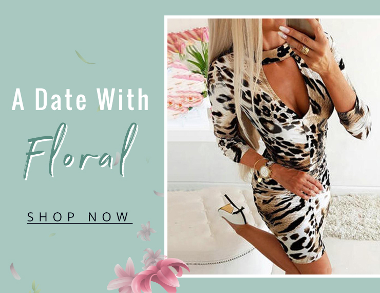 a date with floral