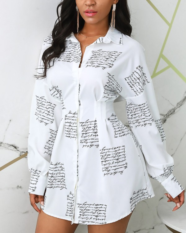 Long Sleeve Turn-down Collar Women Shirt Dress Malay Turkey Fashion Clothing