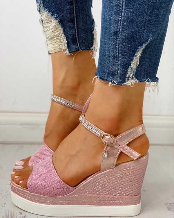 81328bb227 Ankle Strap Platform Wedge Sandals Online. Discover hottest trend fashion at  ivrose.com