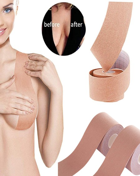 Nipple Cover DIY Breast Lift Tape Push Up Sticky Wireless Bra