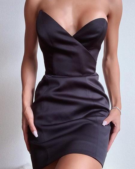 Off The Shoulder Mini Bodycon Dress