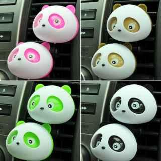 Car Perfume Air Freshener Blink Cute Panda Perfume Diffuser Car Styling Fragrance