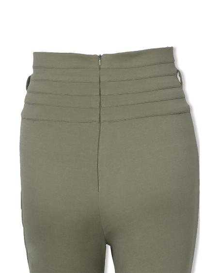boutiquefeel / Solid High Waist Slinky Pants