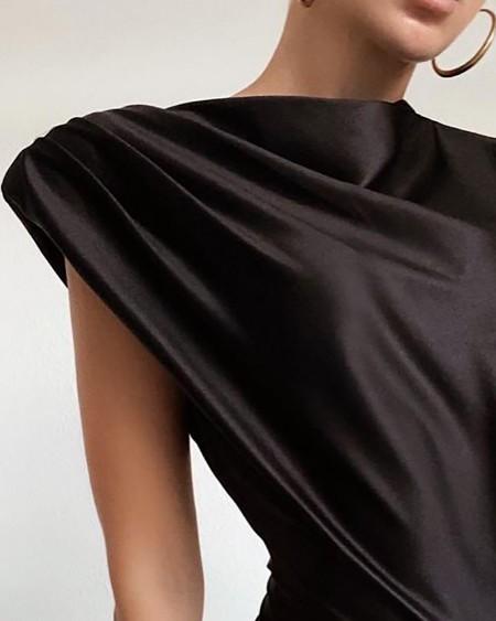 Plain Sleeveless Sexy Bodysuit