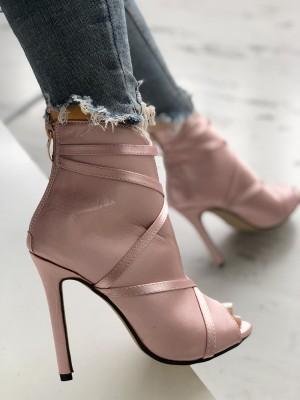 Fashion Peep Toe Bandage Pumps