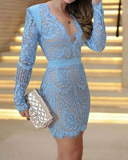 fec1e644 Mesh Splicing Bandeau Glitter Party Dress Online. Discover hottest ...