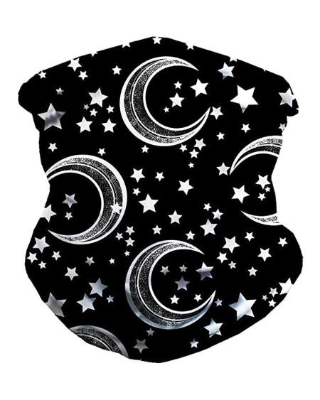 Astro & Moon Print FaceBandana Magic Scarf Headwrap Balaclava