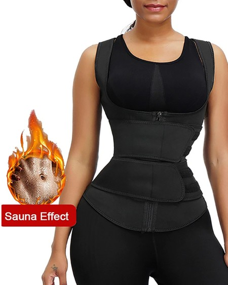 Latex Underbust Corset Sport Girdle Waist Trainer Shapewear