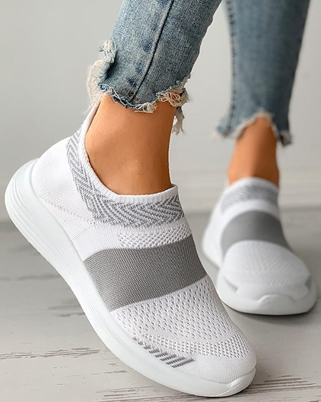 Colorblock Breathable Casual Sneaker