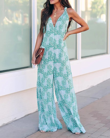 Chic In Jumpsuit