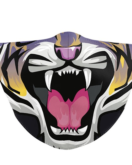 Animal Mouth Print Breathable Face Mask