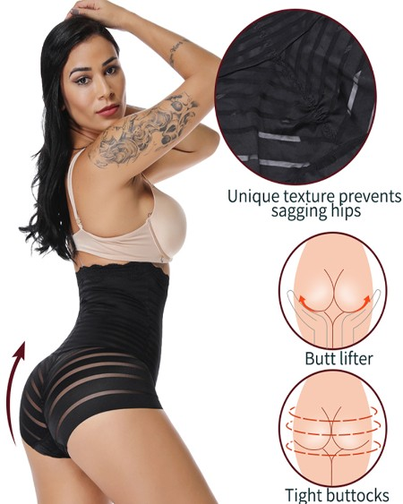 Waist Trainer Body Shaper High Waist Tummy Control Seamless Strapless Panty