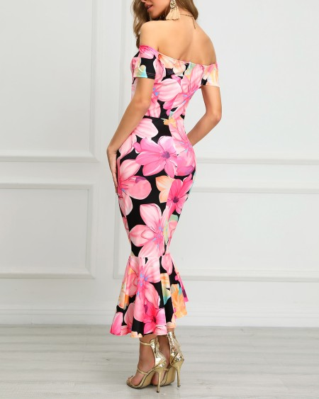 4ddc80a909e8 Women s Sexy Fashion Floral Dresses Online Shoppifcang at Chiquedoll