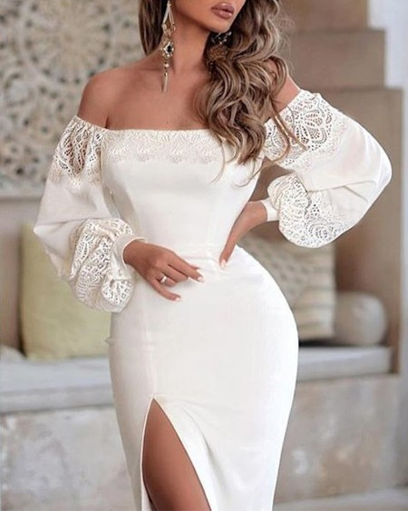 1e3a5db7cdf Women s Fashion Lace Dresses Online Shopping – Chic Me