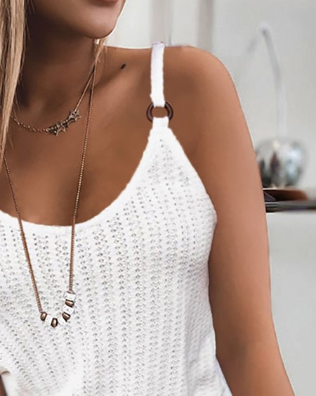 Spaghetti Strap Plain Top