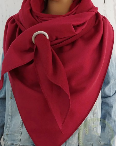 boutiquefeel / Simple Plain O-Ring Scarf