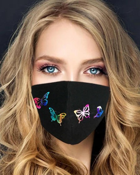 Butterfly Print Ear Loop Breathable Mouth Mask